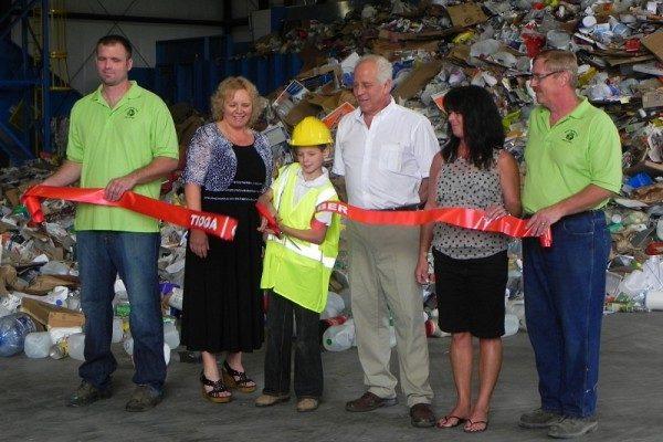 Recycling Center Ribbon Cutting