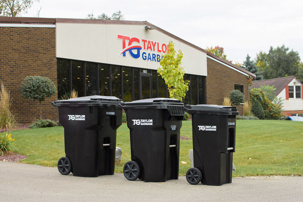 Garbage Cans Sizes