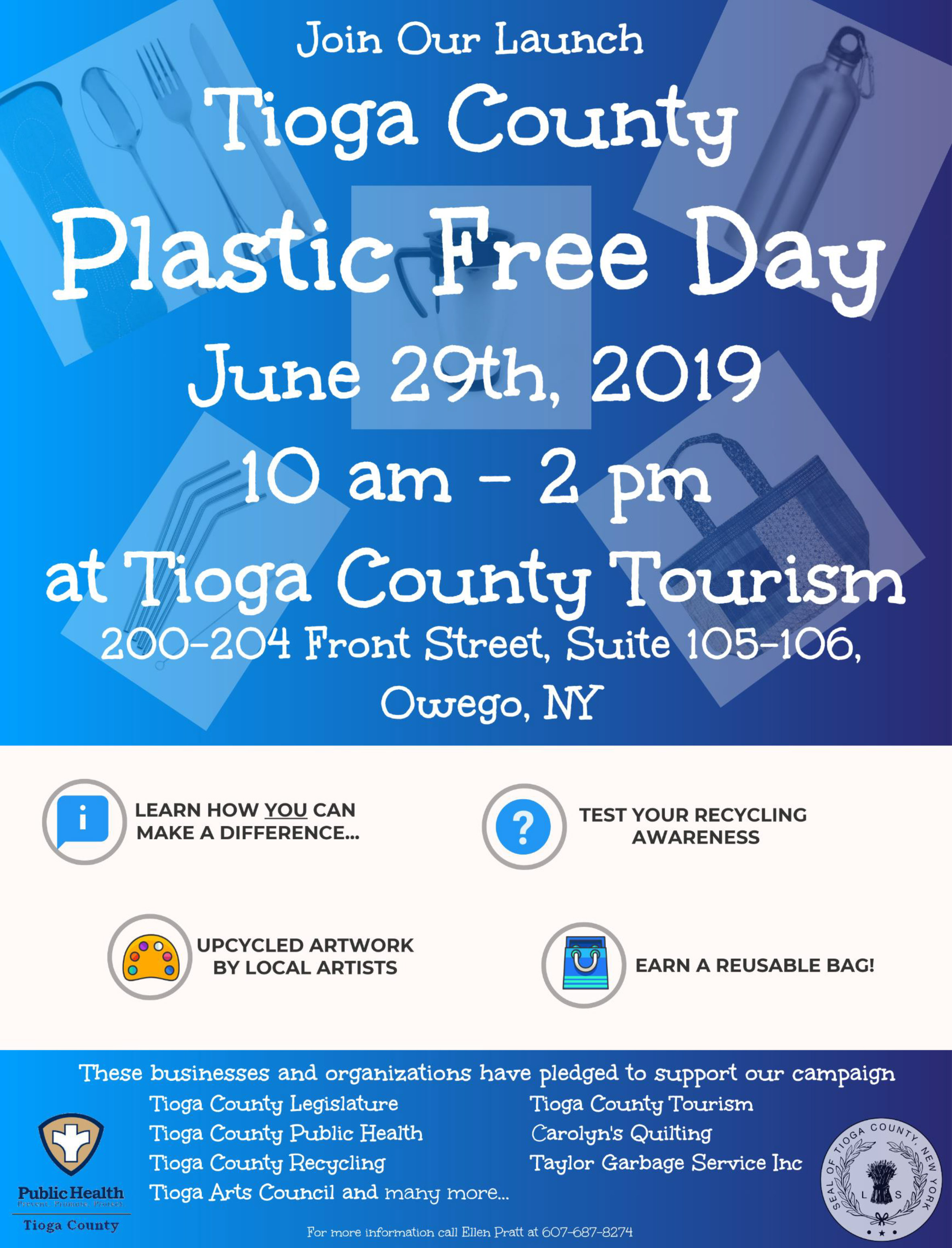 Plastic Free Day Poster