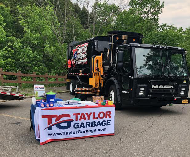 Taylor Garbage truck and booth at the Discovery Center