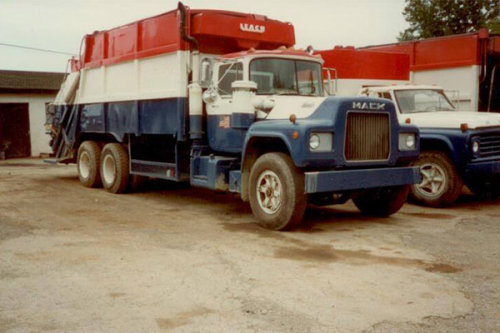 Old Taylor Garbage Trucks