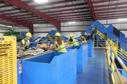 Working With Single Stream Recycling